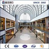 Edificio diseñado prefabricado de la estructura de acero para la alameda de compras, exposición pasillo