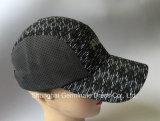 Tissu de maille de tissu de polyester de casquette de baseball de sport avec l'impression à haute densité sur l'avant (LY139)