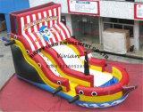 Коммерчески шлюпка пирата PVC раздувная с скольжением прыжока
