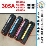 Toner couleur de haute qualité pour HP 305A (410A, 411A, 412A, 413A) , compatible