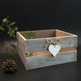 Коробка хранения стандартного сбор винограда En71 ASTM деревянная с конструкцией сердца