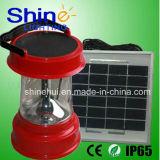 LED移動式料金が付いている太陽緊急のキャンプ装置のランタン