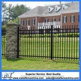 Painel usado decorativo da cerca do ferro feito da segurança