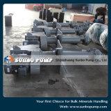 Pompe centrifughe chimiche verticali resistenti di trattamento di sprechi