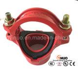 Té mécanique Grooved de fer malléable de la qualité FM/UL/Ce