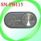 Прозрачной пластиковой символов с помощью шрифта Брайля элеватора соломы с нажатием кнопки (SN-PB115)