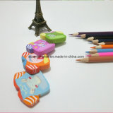 Cute Cartoon PVC / TPR Eraser, Eraser pour enfants