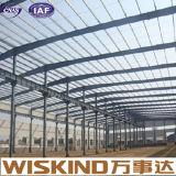 Magazzino e gruppo di lavoro della struttura d'acciaio dell'ampia luce