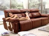 Top italienne inclinable Home Theater Seating / Sofa (922 #)