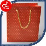 El más barato de calidad superior bolsa de papel de prendas de vestir