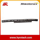 Le flexible hydraulique SAE 100 R3 et le flexible hydraulique de la tresse de fibre optique