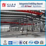 Dibujo estructura ligera de acero prefabricada Almacén