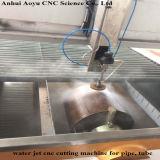 CNC Abrasive Waterjet/Water Jet Cutting Machine per Glass, Metal, Stone