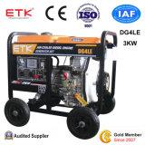 交換のための2014年の中国の新型ディーゼル発電機(3KW)