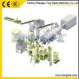TONY Structure rationnelle Ring Die 2T/H usine de granules de bois en caoutchouc