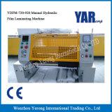 Machine feuilletante froide hydraulique manuelle pour que la feuille de papier roule