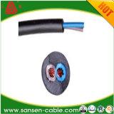単心PVCは6 mm2 Wire/BS6500/IEC227/H03VV-F/H05VV-F/99.999%の純粋な銅Conductor/PVC Insulation/PVCの外装を絶縁した