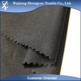tessuto uniforme della gabardine della saia del poliestere 150d di 100%