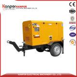 generator In drie stadia van het Type van 120kw150kVA ISO9001 AC de Bewogen Aanhangwagen