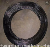 Collegare temprato Twisted nero del ferro di Bwg18#1.2mm