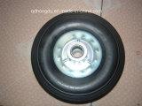 """8X2.5 """"ゴム製固体車輪、ツールのカートの車輪、ごみ箱の車輪"""