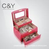 Коробка хранения ювелирных изделий крокодила нового подарка пластичная