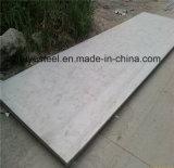 Hoja ASTM A240 316L de la placa de acero de Satinless