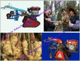 Le gingembre de moissonneuse de raccord en caoutchouc de gingembre récoltent la machine de culture (WS10HP)