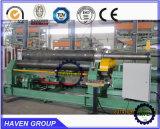 Rolos mecânicos do tipo três W11-25X3000 que rolam e máquina de dobra