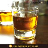 中国の工場方法カスタムギフトの円形のウィスキーの飲むガラス