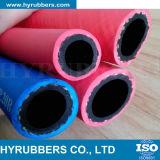 Tubo flessibile di gomma industriale, tubo flessibile acetilene/dell'ossigeno, tubo flessibile gemellare della saldatura, singolo tubo flessibile della saldatura