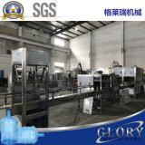 máquina de rellenar del agua mineral de 100bph 5gallon en botella plástica
