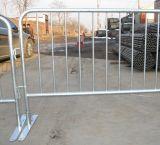 Totalmente de alta qualidade da esgrima Barricade rodoviário galvanizado com pés planos