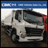 Descarga de Sinotruk HOWO 25ton/caminhão de Tipper resistentes com o 336HP para a venda