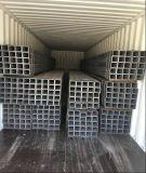 Fluss-Stahl Q235 heißes BAD galvanisiertes Rohr/Quadrat-Stahlrohr/Gefäß