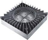 De Toebehoren van de Verlichting van de Dekking van de lamp door Aluminium