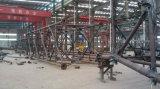 Tour de télécommunication de 60 m, échelle de câble, arceau de sécurité