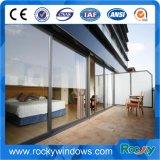 이중 유리를 끼우는 Tempered Glass Aluminum Sliding Door 및 Window
