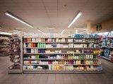 Полка супермаркета металла для товара и Comestics