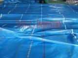Coperchio di plastica della tela incatramata, strato della tela incatramata del PE, tela incatramata del contenitore del polietilene