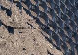 Grint Geocell die in de Aanleg van Wegen wordt gebruikt