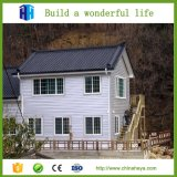 Casa modular de acero ligera prefabricada del chalet de las construcciones de viviendas
