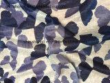 La polilla cuenta un cuento la impresión/por el color de telas hechas punto