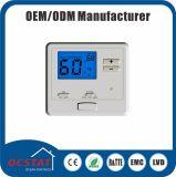 Thermostat inférieur de pièce de Voltgae 24V d'étape simple pour le climatiseur