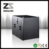 Zsound La110p 두 배 15 인치 소형 각자에 의하여 강화되는 PA Subwoofer