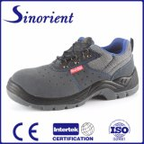 Zapatos de acero de cuero de la seguridad en el trabajo de la punta del ante para la construcción