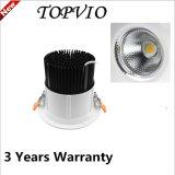 Comercio al por mayor nueva ronda de 8 pulgadas COB 50W Downlight LED de techo
