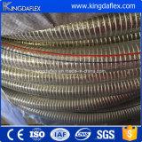 Gewundener Stahldraht Belüftung-Wasser-Absaugung-Schlauch