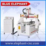 Рекламируя машина маршрутизатора CNC конструкции роторного приспособления оси 0508 миниая деревянная для алюминия PVC PCB