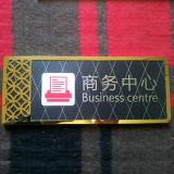 カスタム割引卸売の習慣サイズの金属板の印